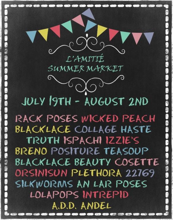 L'Amitie Summer Market